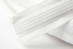 N4333.IV Satin Covered Polyester Boning - 25m x 15mm: Ivory